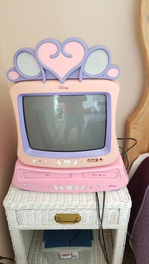Disney tv, vcr, and dvd for Sale in Knightdale, NC