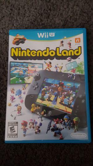 Nintendo Land For Wii U for Sale in Las Vegas, NV