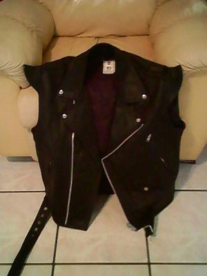 Motorcycle vest, size 44. for Sale in Loxahatchee, FL