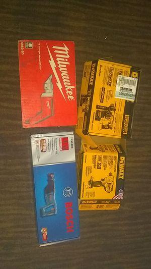 DeWalt and Milwaukee tools plus for Sale in Hemet, CA