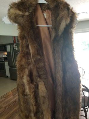 Fur vest for Sale in Norfolk, VA