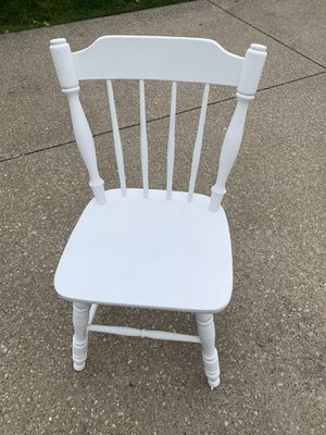 White accent chair for Sale in Northfield, OH