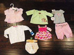 Baby girl clothes all new with tags size 0-12 months for Sale in Gilbert, AZ