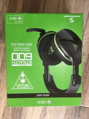 Turtle beach 600 stealth gaming head set for Xbox one for Sale in Carlsbad, CA