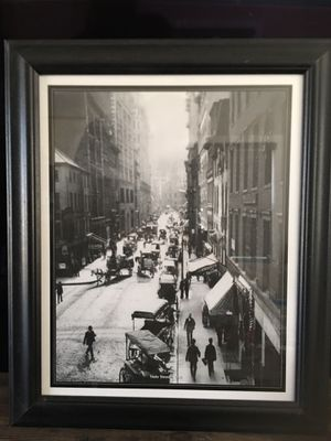 Picture of State street in Boston 1901 for Sale in Brockton, MA