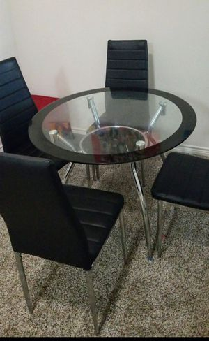 Glass dining table for Sale in Irving, TX