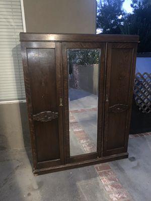 Gorgeous antique wardrobe for Sale in Murrieta, CA
