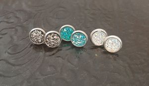 Avaya Designs Druzy Studs Earrings Bundle for Sale in Wichita, KS