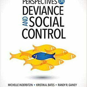 Perspectives on Deviance and Social Control 2nd Edition ebook PDF for Sale in Ontario, CA
