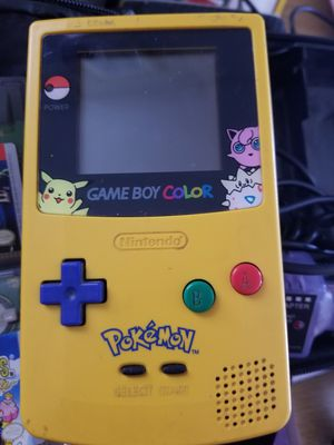 Pokemon Gameboy Color with 5 games for Sale in Queen Creek, AZ