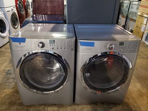 Electrolux front load Washer and dryer set in excellent conditions four months warranty for Sale in Baltimore, MD