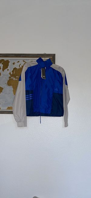 Adidas Workout Blue Jacket for Sale in Oakland, CA