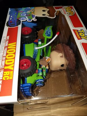 Funko pop ride Woody on RC Toy story slight imperfections as pictured for Sale in Ontario, CA