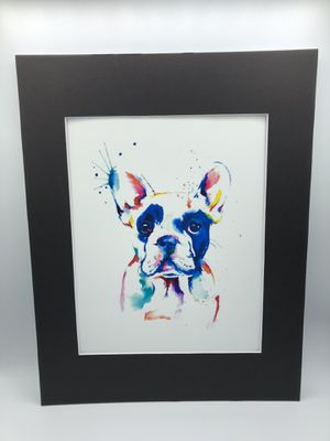 Colorful Frenchie Art Print 11x14 inch for Sale in Miami, FL