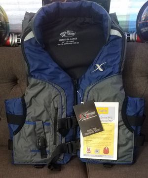 4XL Bass Pro Shops Adult Deluxe Fishing Vest Life Jacket XPS Flotation Device for Sale in Tampa, FL