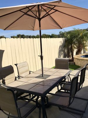 Patio dining table. for Sale in Santee, CA