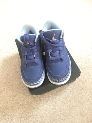 Size 12 Youth Jordan 3 Retro for Sale in Manassas, VA
