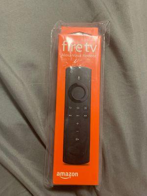 Fire tv Alexa voice remote control with TV control for Sale in Miami, FL