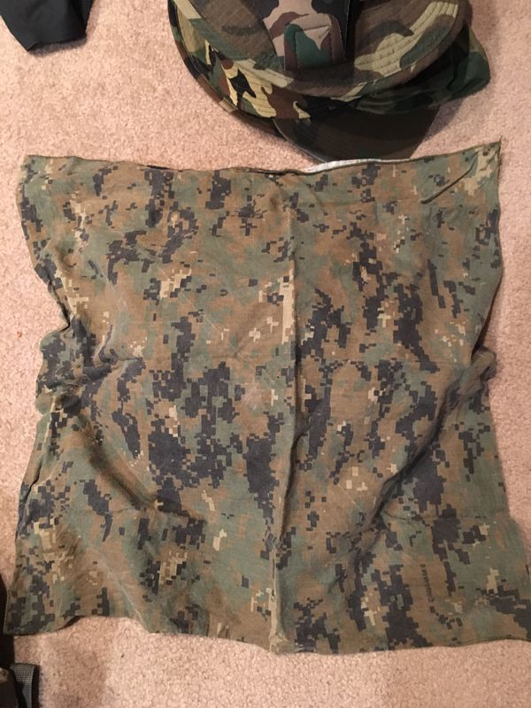 Army camo clothes and accessories
