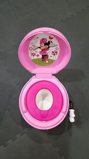 The Frist Years Minnie Mouse Potty/ Step Stool for Sale in Manassas, VA