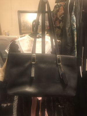 COACH Bag A1D 9813 Black Leather Purse Legacy Tote Vintage Handbag Made In USA. Condition is looks like new Pre-owned. for Sale in Conroe, TX