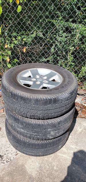 "Jeep Wheels 17"" for Sale in Douglasville, GA"