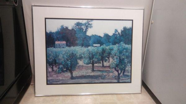 Art work/ framed pictures