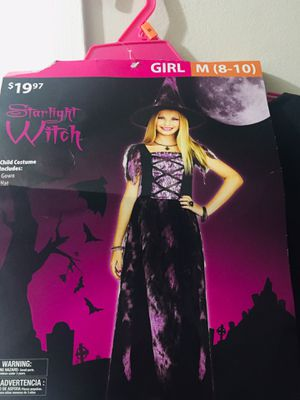 New Halloween witch costume..$3 for Sale in Rochester, MI