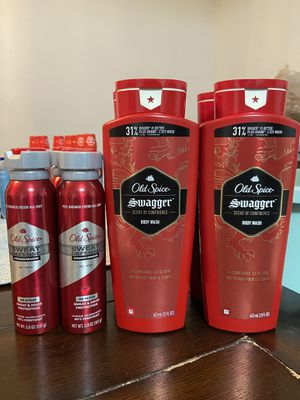 Old Spice Body Wash & Dry Spray for Sale in Baytown, TX