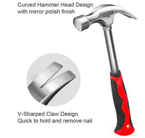 Brand New in Box 20 Ounce Fiberglass Curve Claw Hammer General Purpose Shock Reduction Grip Framing Hammers for Sale in Hayward, CA