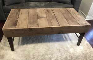 Authentic Custom Coffee Table and Two end tables for Sale in Tacoma, WA