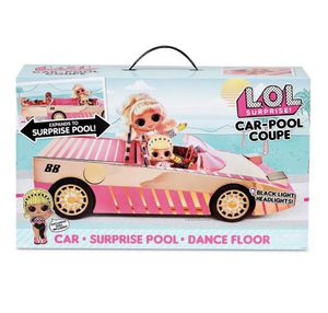 Lol car+surprise pool+dance floor and exclusive doll for Sale in Lynwood, CA