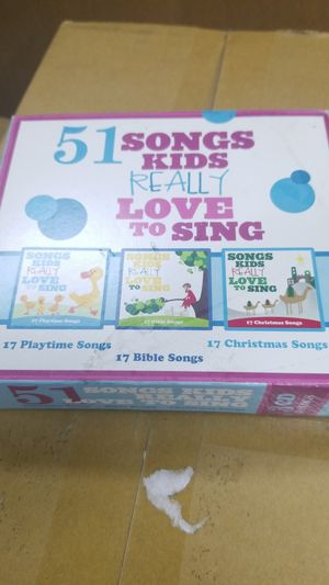 3 CD SET SONGS KIDS REALLY LOVE TO SING for Sale in Hagerstown, MD