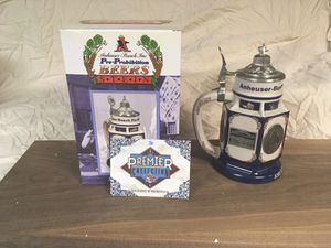 Anheuser-Busch Pre-Prohibition Stein for Sale for sale  Trenton, NJ