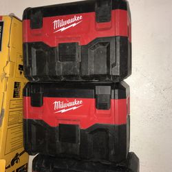 Milwaukee M18 Shop Vacuum Tool Only Each $50 for Sale in Garden Grove, CA
