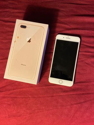 Gold iPhone 8plus 64 GB Like new for sale Great condition( firm on price, no negotiations!) for Sale in Kansas City, MO