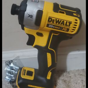 Brand new never used DEWALT 20-Volt MAX XR Lithium-Ion Cordless Brushless 3-Speed 1/4 in. Impact Driver (Tool-Only) $$ 85 firm for Sale in Bakersfield, CA