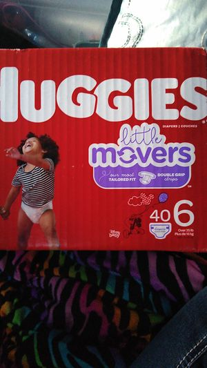 Huggies little movers size 6 for Sale in Keizer, OR