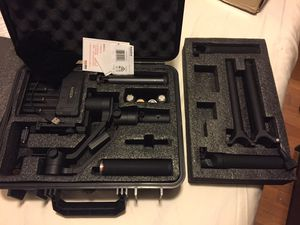 Moza stabilizer with holder and extra batteries for Sale in NJ, US