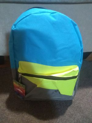 Lime green and sky blue book bag for Sale in Janesville, WI