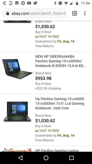 Brand New hp pavilion gaming laptop for Sale in Springfield, MO