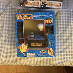 Selling pacman mini arcade game! Just need to plug it directly into tv for Sale in South San Francisco, CA