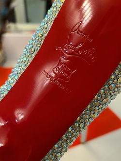 Rhinestone Red Bottom Heels for Sale in Victorville,  CA