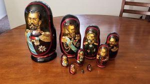 Russian Czar Nesting Doll for Sale in Tucson, AZ