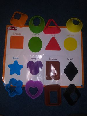 *Free w/ purchase* playdough shapes set for Sale in Huntington Park, CA