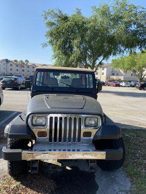 1995 Jeep Wrangler for Sale in Jacksonville, FL