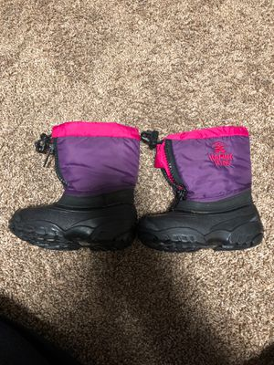 Kids snow boots size 8 for Sale in Spanaway, WA