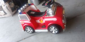 Paw patrol ride-on truck for Sale in Sacramento, CA