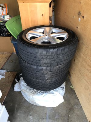 4 brand new tires w/Toyota rims '17 for Sale in Fontana, CA
