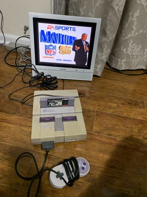 Super Nintendo entertainment system one controller for Sale in Wood Dale, IL
